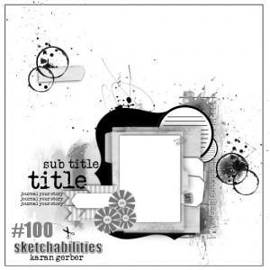 sketch 100