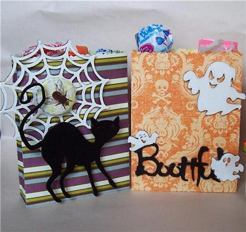 Halloween Treat Bags detail 1