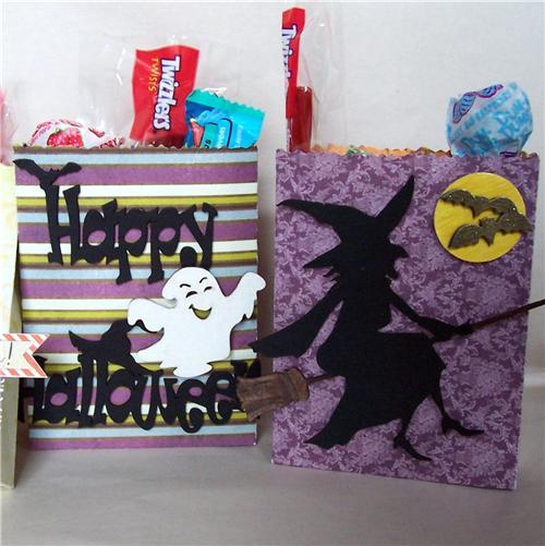 Halloween Treat Bags detail 3