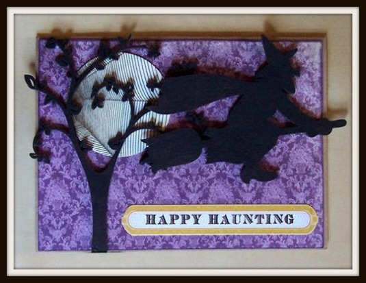 Happy Haunting card