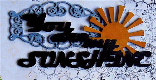 You Are My Sunshine detail 2